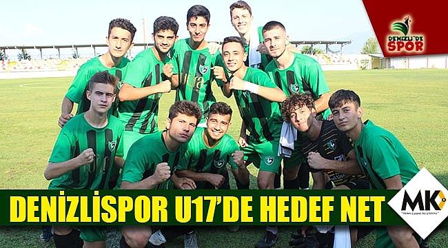 Denizlispor U17'de hedef net