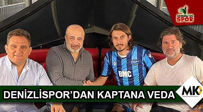 Denizlispor'dan kaptana veda