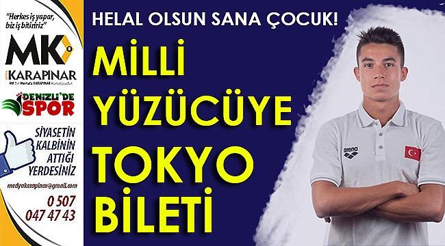Denizlili milliye Tokyo bileti!